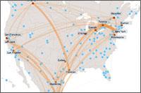Map: Metro Trade Hubs