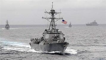 he US Navy guided-missile destroyer USS Lassen, which sailed within 12 nautical miles of artificial islands built by China in the South China Sea on October 27, 2015, is pictured in the Pacific Ocean in a November 2009 photo provided by the U.S. Navy. US Navy/CPO John Hageman/Handout via Reuters/File Photo